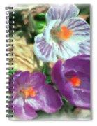 Ist Flowers In The Garden 2010 Spiral Notebook