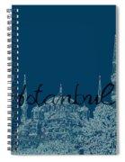 Istanbul Blue Mosque Spiral Notebook