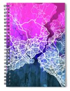 Istanbul Watercolor Spiral Notebook