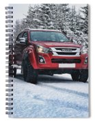 Isuzu In The Snow Spiral Notebook