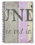 It All Comes Out In The Wash Spiral Notebook