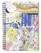 It Circulates Spiral Notebook
