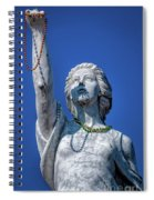 It Is All About The Beads-nola Spiral Notebook