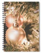 It Is Christmas 3 Spiral Notebook