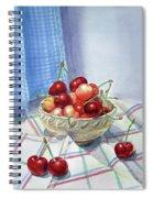 It Is Raining Cherries Spiral Notebook