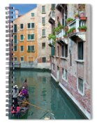 It Must Be Venice Spiral Notebook