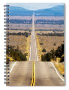 It Only Goes East Spiral Notebook
