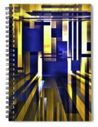 Where The Light Exists Spiral Notebook