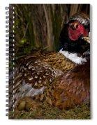 It Was A Foul Bird Spiral Notebook