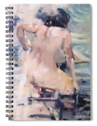 Italian Bathers 2 Spiral Notebook