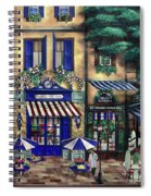 Italian Cafe Spiral Notebook