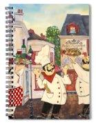 Italian Chefs-jp3042 Spiral Notebook
