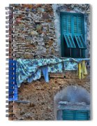 Italian Clothes Dryer Spiral Notebook