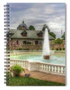 Italian Fountain Maymont  Spiral Notebook