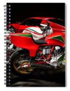 Italian Garage Spiral Notebook