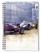 Italian Gp1937 Livorno  Spiral Notebook