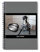 Italian Greyhound Bad Boy Spiral Notebook