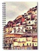 Italian Hillside Village Spiral Notebook