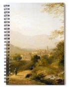 Italian Landscape Spiral Notebook