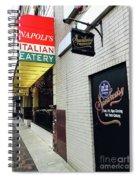 Italian Speakesy Spiral Notebook