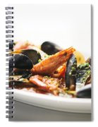 Italian Traditional Seafood Stew  Spiral Notebook