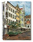 Italian Village 1 Spiral Notebook