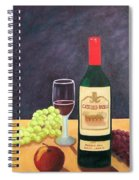 Italian Wine And Fruit Spiral Notebook