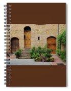 Italy - Door Eight Spiral Notebook