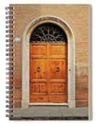 Italy - Door Fifteen Spiral Notebook