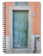 Italy - Door Five Spiral Notebook
