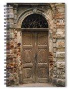 Italy - Door Four Spiral Notebook