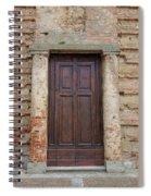 Italy - Door Nineteen Spiral Notebook