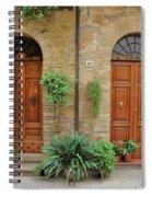 Italy - Door Seventeen Spiral Notebook
