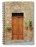 Italy - Door Six Spiral Notebook