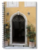 Italy - Door Thirteen Spiral Notebook