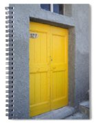 Italy - Door Three Spiral Notebook