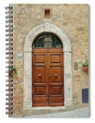 Italy - Door Twelve Spiral Notebook