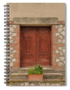 Italy Door - Twenty Six  Spiral Notebook