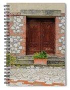 Italy - Door Twenty Two Spiral Notebook