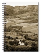 Italy From Above Spiral Notebook