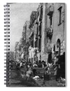 Italy: Naples, C1904 Spiral Notebook