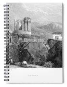 Italy: Tivoli, 1832 Spiral Notebook