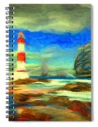 Itapua Lighthouse 1 Spiral Notebook