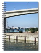 Itchen Bridge Southampton Spiral Notebook