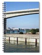 Itchen Bridge Southampton Spiral Notebook