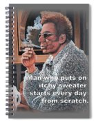 Itchy Sweater Spiral Notebook