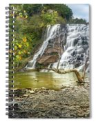 Ithaca Falls In Early Autumn Spiral Notebook