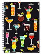 Its 5  Oclock Somewhere Cocktails Spiral Notebook