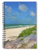 It's A Beach Kind Of Morning Spiral Notebook