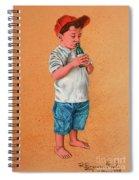 It's A Hot Day - Es Un Dia Caliente Spiral Notebook